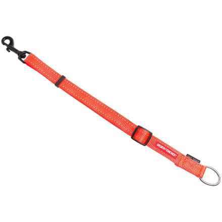 EzyDog Soft Touch Leash Extension in Blaze Orange - Closeouts