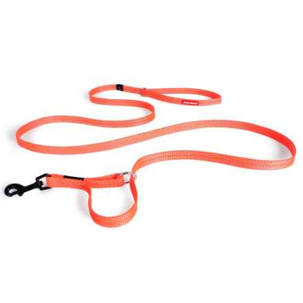 EzyDog Vario 4 Multi-Function Dog Leash - 6' in Blaze Orange - Closeouts