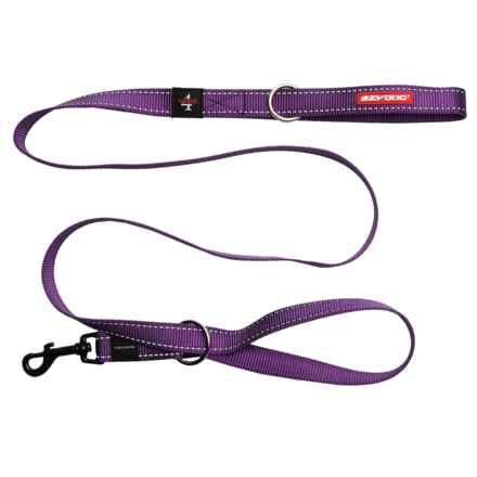 EzyDog Vario 4 Multi-Function Dog Leash - 6' in Purple - Closeouts