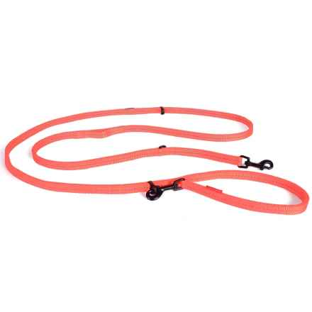"EzyDog Vario 6 Lite Multi-Function Dog Leash - 6'10"" in Blaze Orange - Closeouts"
