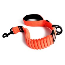 """EzyDog Zero Shock Dog Leash - 25"""" in Blaze Orange - Closeouts"""