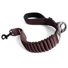 "EzyDog Zero Shock Dog Leash - 25"" in Chocolate - Closeouts"