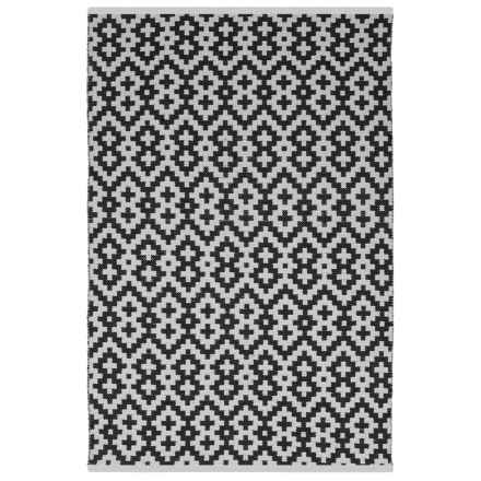 Fab Habitat Estate Collection Indoor-Outdoor Area Rug - 4x6' in Samsara Black/White - Closeouts