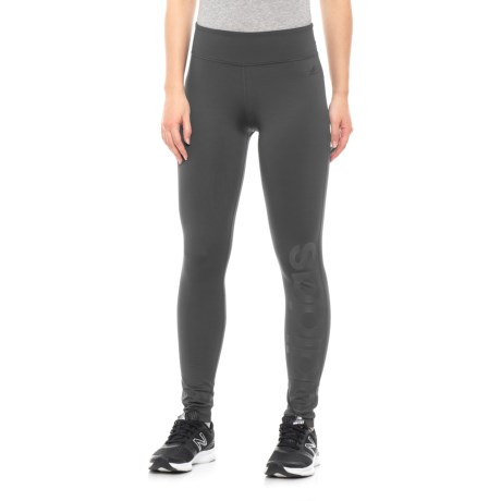 Fab Linear Long Tights (For Women) - CARBON/CARBO (L )