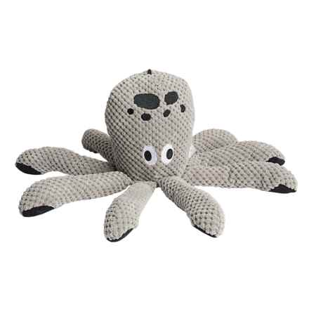 fabdog Floppy Octopus Dog Toy in Grey - Closeouts