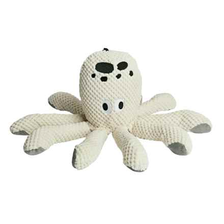fabdog Floppy Octopus Dog Toy in Natural - Closeouts
