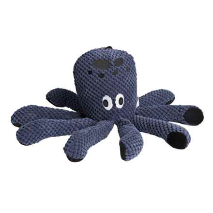 fabdog Floppy Octopus Dog Toy in Navy - Closeouts