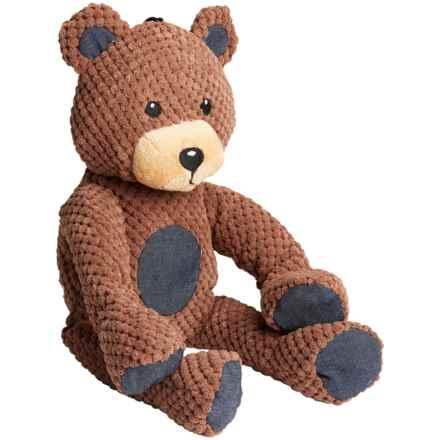 fabdog Floppy Teddy Bear Dog Toy in Brown - Closeouts