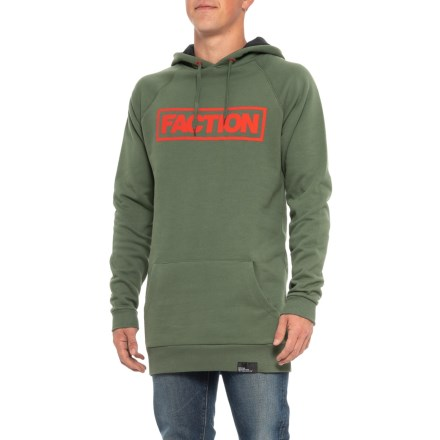 4febe9dc Faction Skis Tall Logo Hoodie (For Men) in Thyme - Closeouts