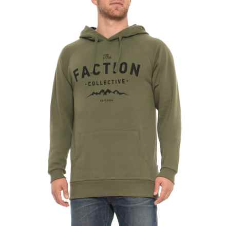 578e0f27 Faction Skis TFC Logo Hoodie (For Men) in Moss - Closeouts