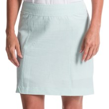 Fairway & Greene Camila Seersucker Stripe Skort - Built-In Shorts (For Women) in Vista - Closeouts