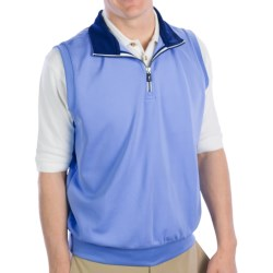 Fairway & Greene Caves Tech Vest - Zip Neck (For Men) in Haze