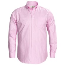 Fairway & Greene Houndstooth Twill Sport Shirt - Long Sleeve (For Men) in Pink - Closeouts
