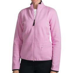 Fairway & Greene Luxury Jacket  (For Women) in Pale Pink