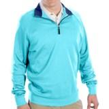 Fairway & Greene Luxury Shirt - Interlock Cotton, Zip Neck, Long Sleeve (For Men)