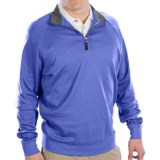 Fairway & Greene Luxury Shirt - Interlock Cotton, Zip Neck, Long Sleeve (For Men)