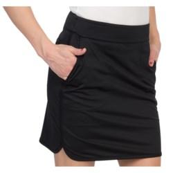 Fairway & Greene Marisa Stretch Skort (For Women) in Black