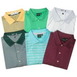 Fairway & Greene Mercerized Cotton Polo Shirts - 2-Pack, Short Sleeve (For Men) in Asst