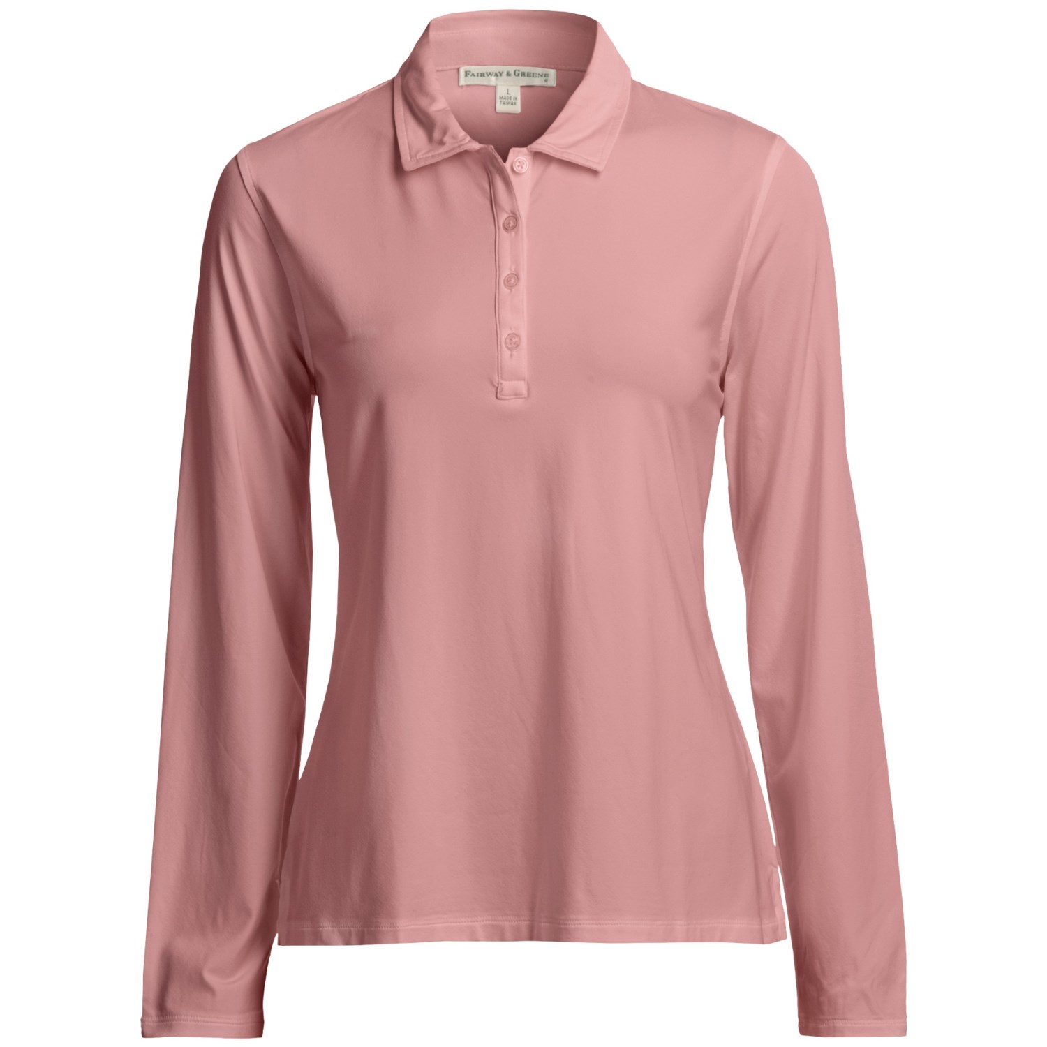 Fairway Greene Michelle Tech Jersey Polo Shirt Long