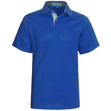 Fairway & Greene Pureformance Polo Shirt - Short Sleeve (For Men) in Secretariat