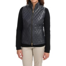 Fairway & Greene Sabrina Vest (For Women) in Black - Closeouts