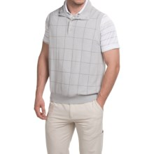 Fairway & Greene Seabreeze Tech Blend Wind Vest (For Men) in Stormy Heather - Closeouts