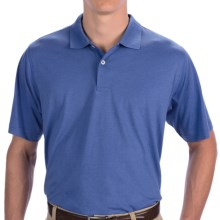 Fairway & Greene Signature Pima Jersey Polo Shirt - Short Sleeve (For Men) in Riviera - Closeouts
