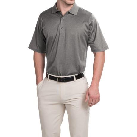 Fairway and Greene Signature Solid Lisle Polo Shirt Mercerized Cotton, Short Sleeve (For Men)