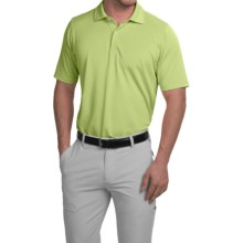 Fairway & Greene Solid Tech Polo Shirt - Short Sleeve (For Men) in Tequila - Closeouts
