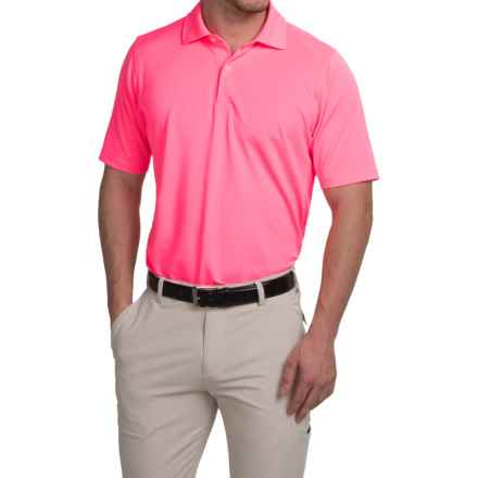 Fairway & Greene Solid Tech Polo Shirt - Short Sleeve (For Men) in Watermelon - Closeouts