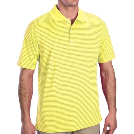 Fairway & Greene Strahan Jersey Polo Shirt - Short Sleeve (For Men) in Highlight