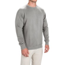 Fairway & Greene Tech Old-School Sweatshirt (For Men and Big Men) in Light Grey Heather - Closeouts