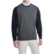 Fairway & Greene Tech Old-School Sweatshirt (For Men and Big Men) in Navy Combo - Closeouts