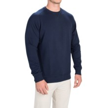 Fairway & Greene Tech Old-School Sweatshirt (For Men and Big Men) in Navy - Closeouts