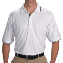 Fairway & Greene Watson Tech Jersey Polo Shirt - Short Sleeve (For Men) in White - Closeouts