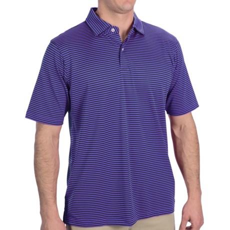 Fairway & Greene Wellington Polo Shirt - Short Sleeve (For Men) in Toxic
