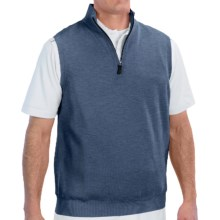 Fairway & Greene Wind Vest - Merino Wool (For Men) in Blue Sea - Closeouts