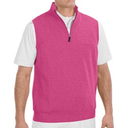 Fairway & Greene Wind Vest - Merino Wool (For Men) in Vanilla