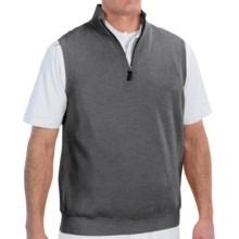 Fairway & Greene Wind Vest - Merino Wool (For Men) in Dark Shadow Grey - Closeouts
