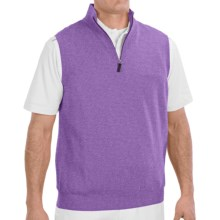 Fairway & Greene Wind Vest - Merino Wool (For Men) in Heather - Closeouts