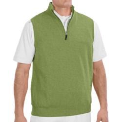 Fairway & Greene Wind Vest - Merino Wool (For Men) in Tweed