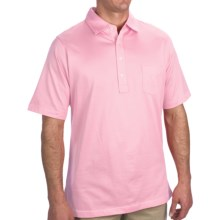Fairway & Greene Winthrop Pureformance Polo Shirt - Short Sleeve (For Men) in Antique Pink - Closeouts