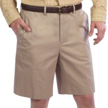 Fairway & Greene Wrinkle-Resistant Twill Shorts (For Men) in Khaki - Closeouts