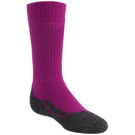 Falke Active Warm Crew Socks - Lightweight (For Kids) in Berry