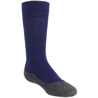 Falke Active Warm Crew Socks - Lightweight (For Kids) in Blue Velvet