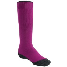 Falke Active Warm Knee-High Socks - Midweight (For Youth) in Berry - Closeouts