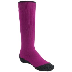 Falke Active Warm Knee-High Socks - Midweight (For Youth) in Berry