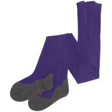 Falke Active Warm Tights (For Kids) in Blueberry - Closeouts