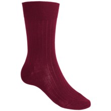 Falke Airport Rib Socks - Wool Blend (For Men) in Cranberry - Closeouts