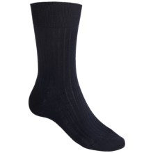 Falke Airport Rib Socks - Wool Blend (For Men) in Dark Navy - Closeouts